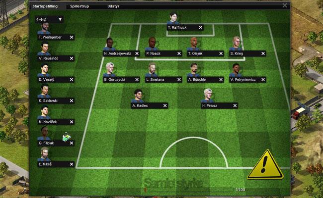 online fodbold manager spil gratis