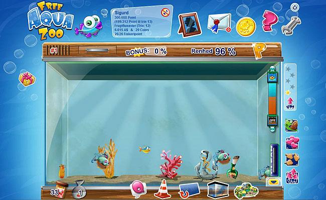 Free Aqua Zoo - Browserspil – Gratis games hos Upjers.com