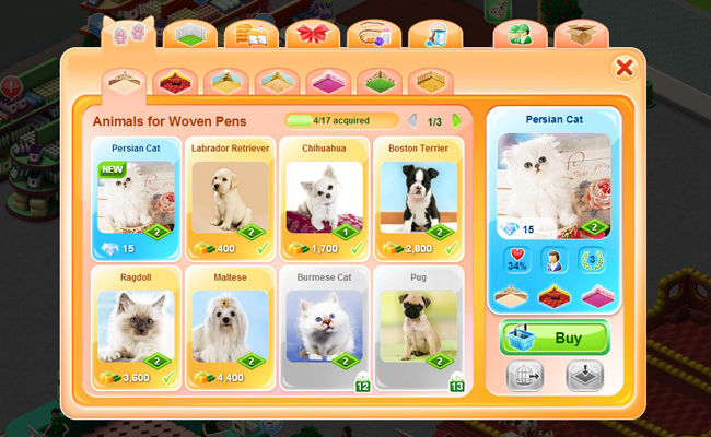 virtual dog games free