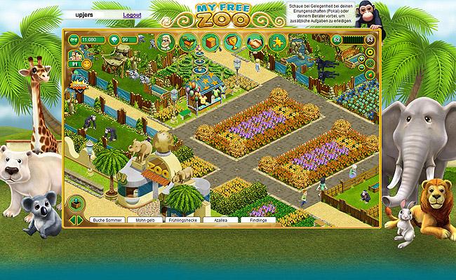 my free zoo anmelden