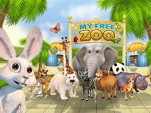 Ditt djuriska zoo spel nöje i webbläsaren