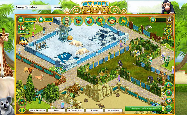 Play Zoo Building Games Free Online