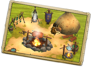 Image result for stone age village