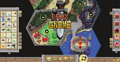 dark gnome pixel browser spiel