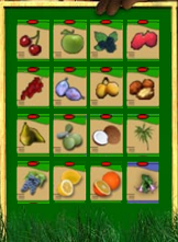 προϊόντα στο ράφι του φυτώριου