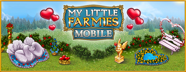 My little farmies mobile sammelt herzen for My little farmies