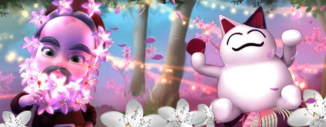 A beautiful blanket of blossoms for Molehill Empire - Upjers com